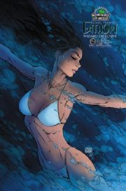 Fathom Volume 2 #8B Wizard World Los Angeles Michael Turner Variant Aspen comic book